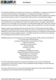 100 Maryland Motor Truck Association Mid Atlantic Dray Replacement Program Final Report PDF