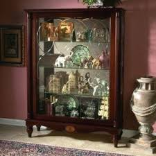 Pulaski Glass Panel Display Cabinet by Mantel Curio Cabinets Foter