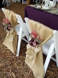 Fantastic Burlap Wedding Decoration Rustic Elegant With Plum Rose And Weddings Decorations