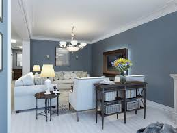 warm paint colors for living room with large wall mirror and white