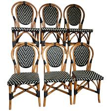 French Style Parisian Cafe Bistro Rattan Dining Chairs At ... 51 Wicker And Rattan Chairs To Add Warmth Comfort Any 1960s Vintage Drexel Caned Barrel Back A Pair For Soldpair Of High Barrel Back Caned Reading Chairs Antique Teak Posts Facebook Tortuga Low Chair Of Mid Century Cane Club By Mcguire Ding Room Toboggan Arm Mcgm130c Set Six Danish Leather Kofodlarsen Style Midcentury Side Claude
