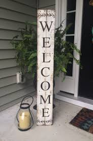 30 Easy DIY Front Porch Sign Ideas For Your Home