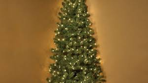 9 Slim Christmas Tree Prelit by Fascinating 9 Ft Slim Led Christmas Tree With Lights Pre Lit