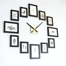 Decoration Wall Clock Cool And Unique To Decorate Your Design Swan
