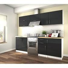cuisine grise et plan de travail noir plan de travail noir laqu le plus brillant et cuisine