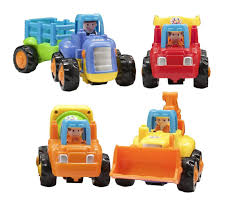 100 Trucks Cartoon Amazoncom Push And Go Friction Powered Play Engineering