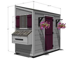 Slant Roof Shed Plans Free by Ana White Shed Chicken Coop Diy Projects