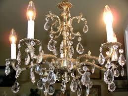 Antique Brass Chandeliers Old Chandelier 20 Best