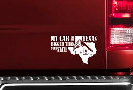 Buy My Car Bigger Than Texas USA 4x4 AWD 4WD Off Road Funny Truck ... Boy Walking T Rex Vinyl Decal For Car And Truck Windows Sticker Funny 3d Eyes Peeking Monster Voyeur Hoods Custom Decals For Cars Price In Singapore Product At Walker St Star Wars Rear Window Amazoncom No Free Rides Gas Or Ass With Jeep Sign Unique Design My Family Guns Stick Figure Auto You Just Got Passed By A Girl Sticker Jdm Race Car Truck 153 Best Bumper Stickers Images On Pinterest Bumper Stickers Ghibli Totoro Catbus Nekobus Suv Wall 4 X Uranus Is Huge Joke Ass Hole Anus Pics Of Weird Wacky Badges Cars Bikes