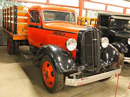 Classic Trucks In Hays Antique Museum, California