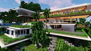 100 Www.modern House Designs Modern S Minecraft