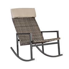 Rocking Chair WICKER 106x58xH94cm, Steel Frame With Plastic Wicker, Color:  Dark Brown | HORECA | Home4you Online Store | Astri.ee Resin Wicker Porch Rockers Easy Care Rocker Charleston Rocking Chair Camel Back Chairs Set Of Two White Summer Outdoor Belwood With Floral Cushions 3pc Cushion And End Table Faux Book Pocket Coral Coast With Khaki The Portside Plantation All Weather Tortuga