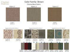 new clayton marcus fabrics and suggested correlates home decor