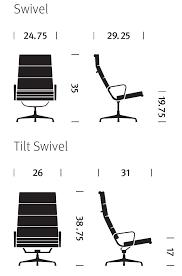 Herman Miller Eames Soft Pad Executive Chair by Herman Miller Eames Soft Pad Chair Lounge Chair Gr Shop Canada