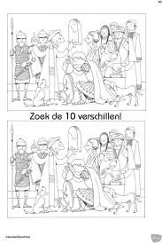Zoek De 10 Verschillen Jezus En Centurion Spot The Differences Jesus And