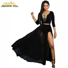 compare prices on sheer black maxi skirt online shopping buy low