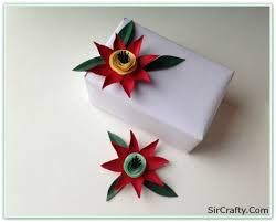 Cute Construction Paper Flowers Handmade Gift Filled With Love