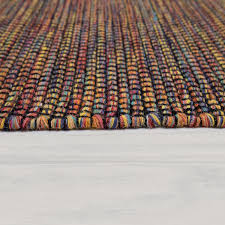 wohnzimmer teppich handgewebtes flachgewebe aus wolle und
