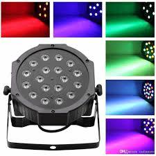 18 LED RGB PAR CAN DJ Stage DMX Lighting For Disco Party Wedding