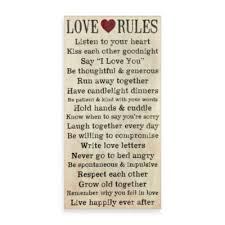 Bed Bathandbeyondcom by Love Rules Wall Art Bedbathandbeyond Com Josh Found This In Bed
