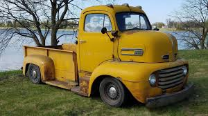This 1948 Ford F-6 COE Truck Has Cop Car Underpinnings - The Drive