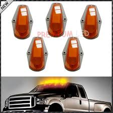 5pcs classic style cab roof marker running ls w led light