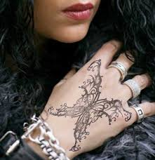 Gothic Tattoo Design On Hand Next Thing My List