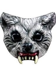 Halloween Silicone Half Masks by Scary Masks Horror Masks Scary Clown Masks Cat Face