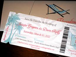 Boarding Pass Wedding Invitation Template Invitations Ideas Templates