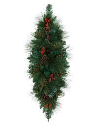8 Ft Mountain Pine Artificial Christmas Tree by Greenbrier Mountain Pine Centerpiece Balsam Hill