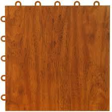 greatmats wood grain reversible dark wood tan 24 in x 24 in x
