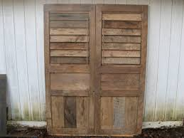 Articles With Old Rustic Wood Shutters Tag: Rustic Wood Shutters ... Top 10 Interior Window Shutter 2017 Ward Log Homes Decorative Mirror With Sliding Barn Style Wood Rustic Shutters Best 25 Barnwood Doors Ideas On Pinterest Barn 2 Reclaimed 14 X 37 Whitewashed 5500 Via Rustic Gallery Wall Fixer Upper Door Modern Small Country Cottage With Wooden In The Kapandate Eifler Entry Gate Porter Remodelaholic Build From Pallets Rustic Wood Wall Decor Roselawnlutheran Flower Sign Xl Distressed