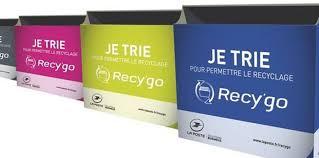 recyclage papier bureau écoplanète la poste recy go collecte et valorise les papiers de