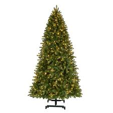 Black Slim Christmas Tree Pre Lit by Home Accents Holiday 7 Ft To 9 Ft Pre Lit Led Virginia Pine Grow