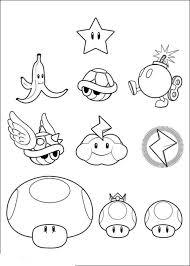 Super Mario Bros Printable Coloring Pages