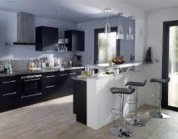 credence cuisine noir et blanc revetement mural cuisine credence 7 cuisine noir avec 238lot