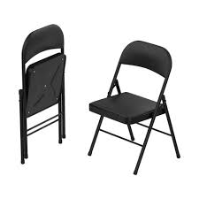 Lavish Home Black Vinyl Cushion Seat Foldable Folding Folding Chair (Set Of  2) Flash Fniture Kids White Resin Folding Chair With Vinyl How To Save Yourself Money Diy Patio Repair Aqua Lawn The Best Camping Chairs Travel Leisure Pair Of By Telescope Company Top 14 In 2019 Closeup Check Lavish Home Black Cushion Seat Foldable Set 2 7 Sturdy For Fat People Up To And Beyond 500 Pounds Reweb A 10 Easy Wooden Benches Family Hdyman Wrought Iron Ideas Outdoor Stackable