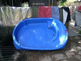 Plastic Kiddie Pool With Slide Colossal Kid Pools Hard Inside Target
