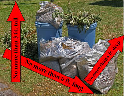 Christmas Tree Disposal Bags Walmart by Garbage Recycling Leaves U0026 Limbs