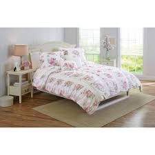 Walmart Bed Sheets by Better Homes And Gardens 5 Piece Floral Ruching Bedding Comforter