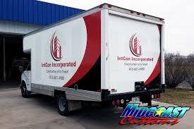 100 Vinyl Wrap Truck Large Volume Commercial Vehicle S Rockford IL MidCoast Customs