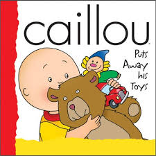 Caillou In The Bathtub by Caillou Puts Away His Toys By Joceline Sanschagrin