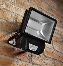 auraglow 50w led security light 250w eqv black auraglow led