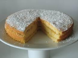 pineapple and coconut layered sponge cake