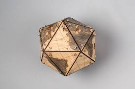 Laser Cut Lamp Kit by Laser Cut A Dymaxion Globe For An Accurate View Of The World Make