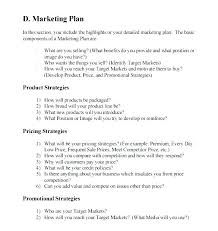 Small Business Marketing Plan Template Writing Free Sample Example Internet Cafe Examples