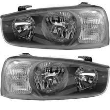 2001 2003 elantra headlight pair