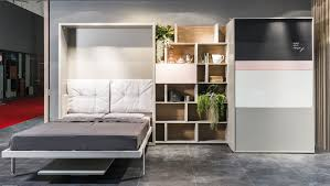 Clei Murphy Bed by Clei Launches Space Saving Hideaway Kitchen Living In A Shoebox