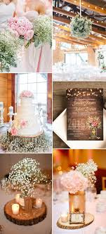 Chic And Elegant Rustic Wedding Ideas With Babys Breath