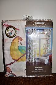 Pier 1 Imports Bird Curtains by New Pier One 1 Imports Birdwatcher Sheer Curtains Window Curtain